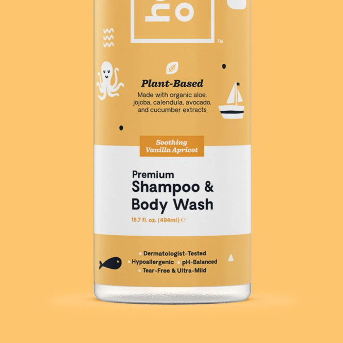 Hello Bello Premium Shampoo & Body Wash Gentle Sweet Cream
