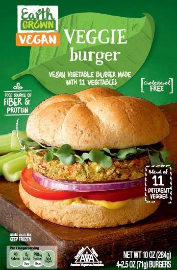 Earth Grown Vegetarian Burgers