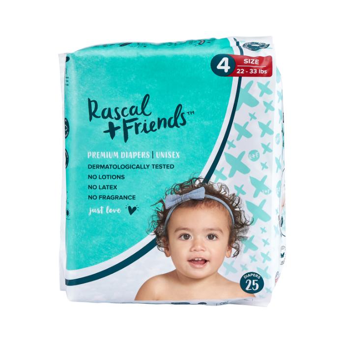 Rascal + Friends Premium Diapers