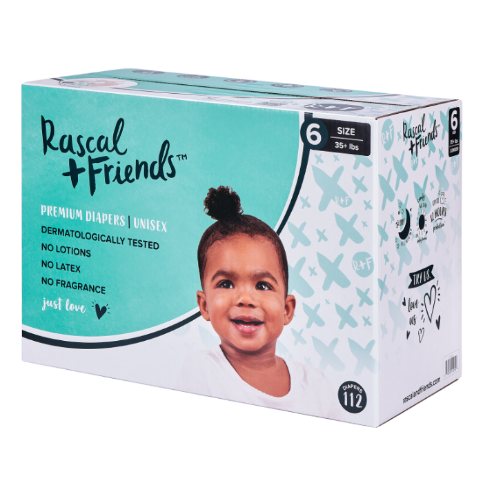 Rascal + Friends Premium Diapers