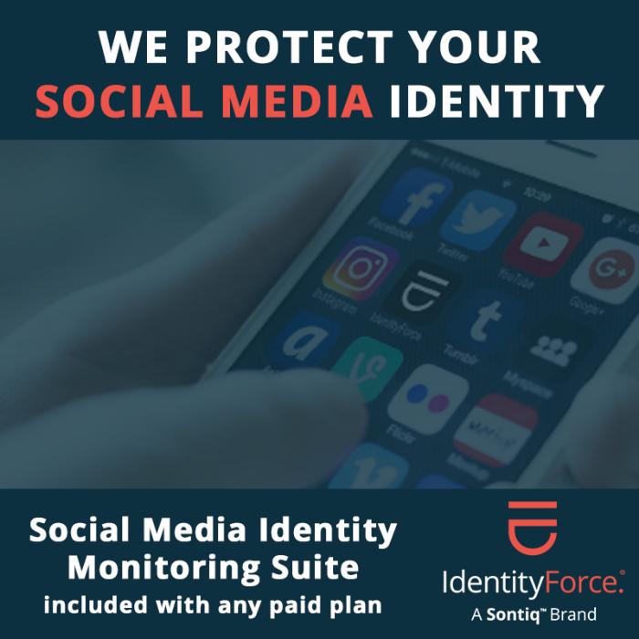 IdentityForce   Family Identity Protection