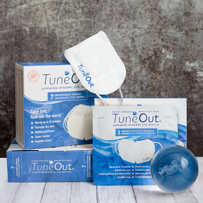 TuneOut™ Warming Mineral Eye Rescue