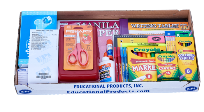 Prepackaged School Supply Program