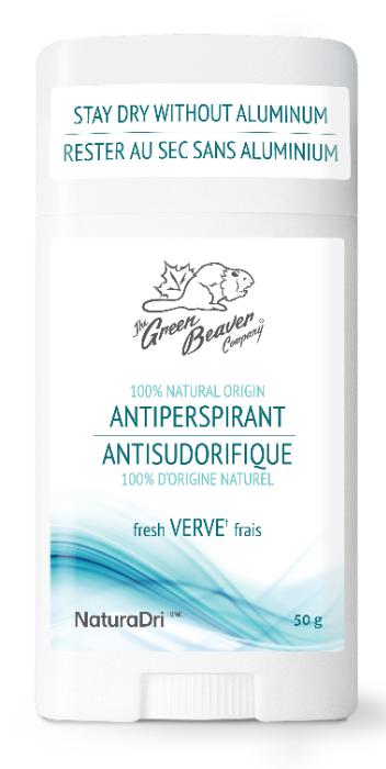 Aluminum Free Antiperspirant, Fresh Verve