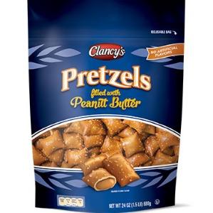 Clancy's Peanut Butter Filled Pretzel Pieces